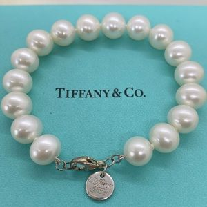🎉HP🎉 Tiffany & Co Ziegfeld 8-10mm Pearl Bracelet